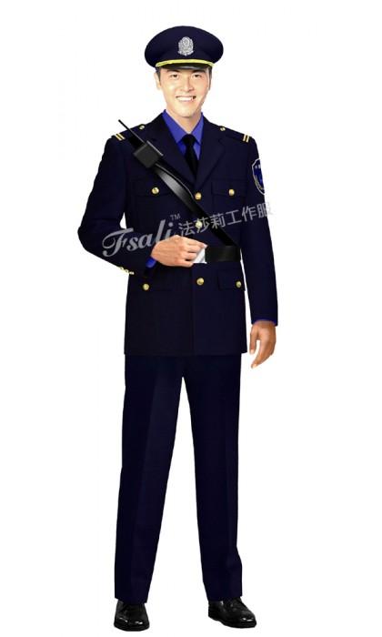 物业保安工作服