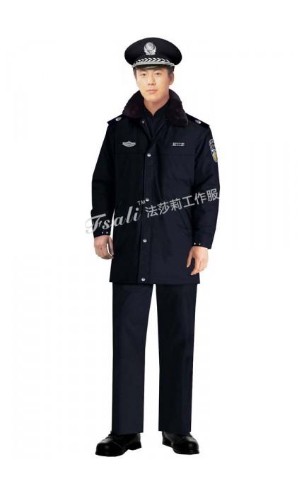 保安制服大衣图片