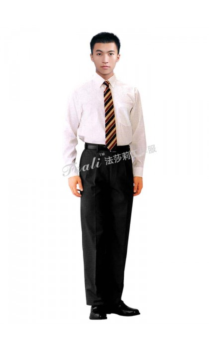 男式长袖衬衫职业装