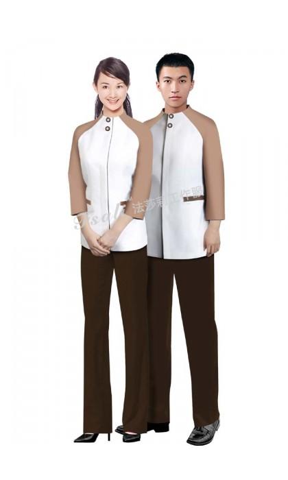 客房服务员制服图片