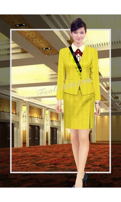 中餐厅酒店领班工作服图片