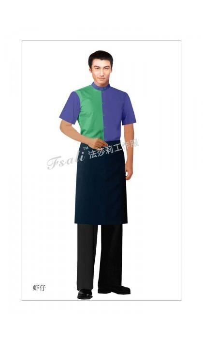 水吧服务员工作服款式