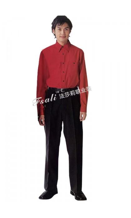 快餐厅男装制服