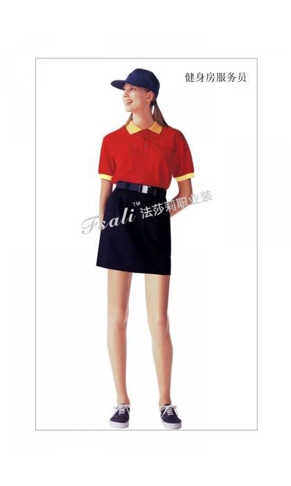 快餐厅女装制服