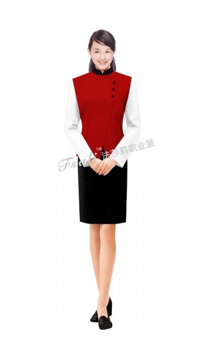 清洁女装工作服图片