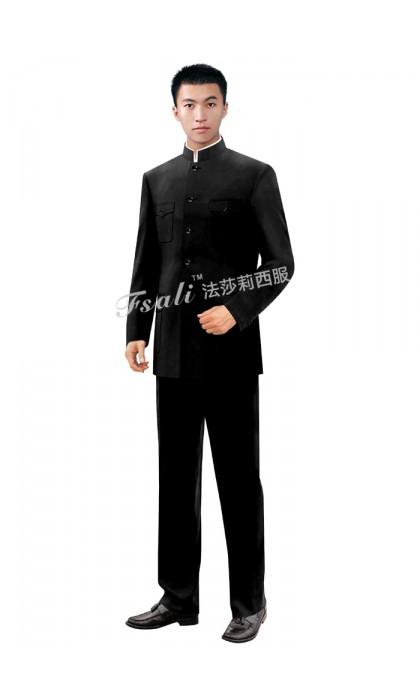 中华立领西装服