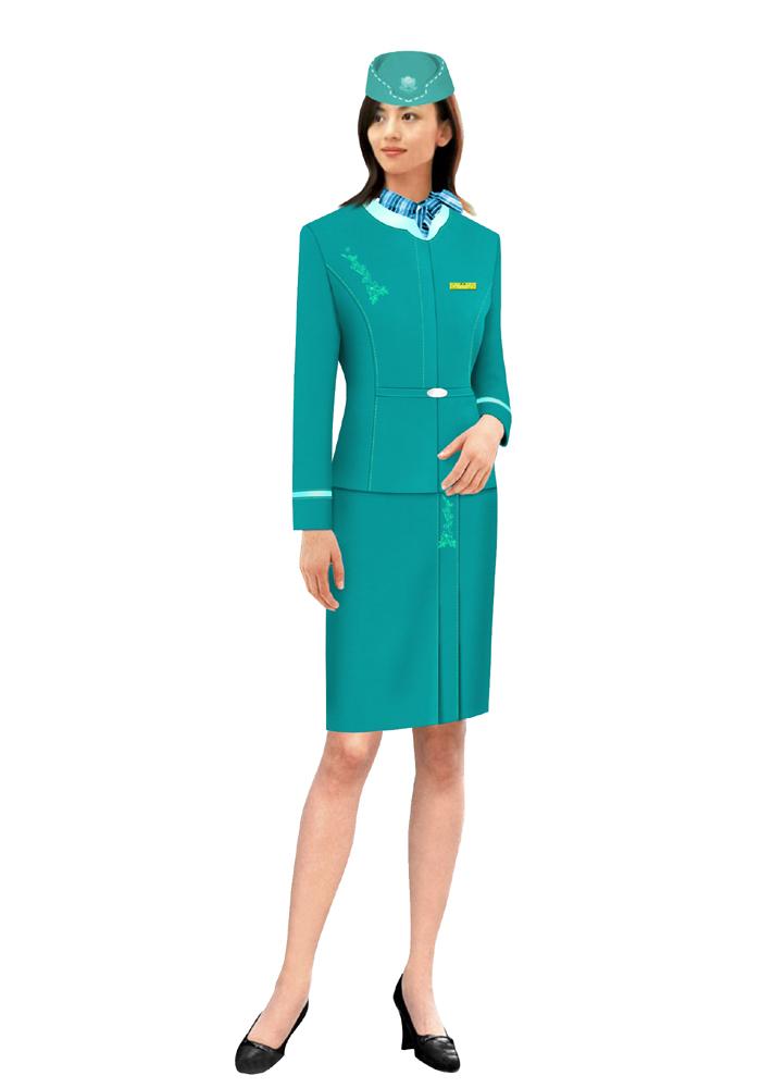 定做航空裙装2