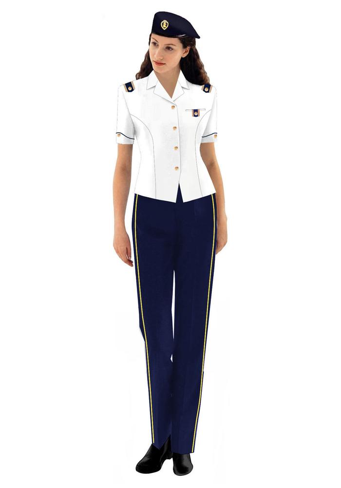 高级铁路女装工服