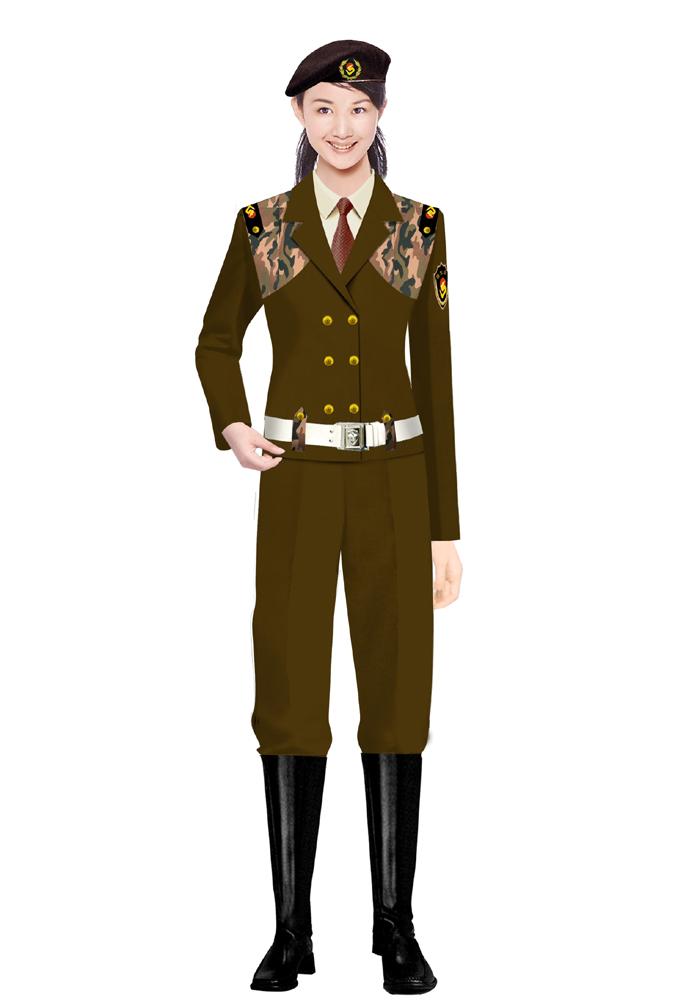 女式保安服