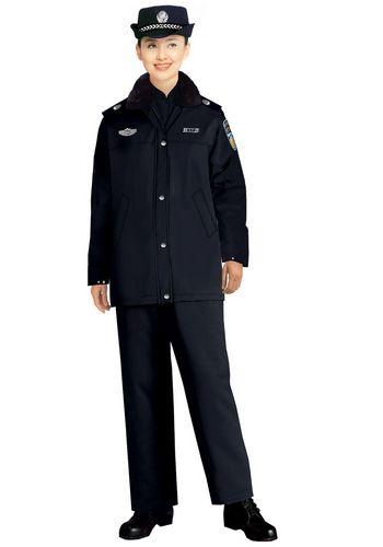 女保安大衣制服