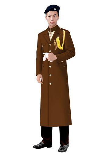 新款保安大衣制服