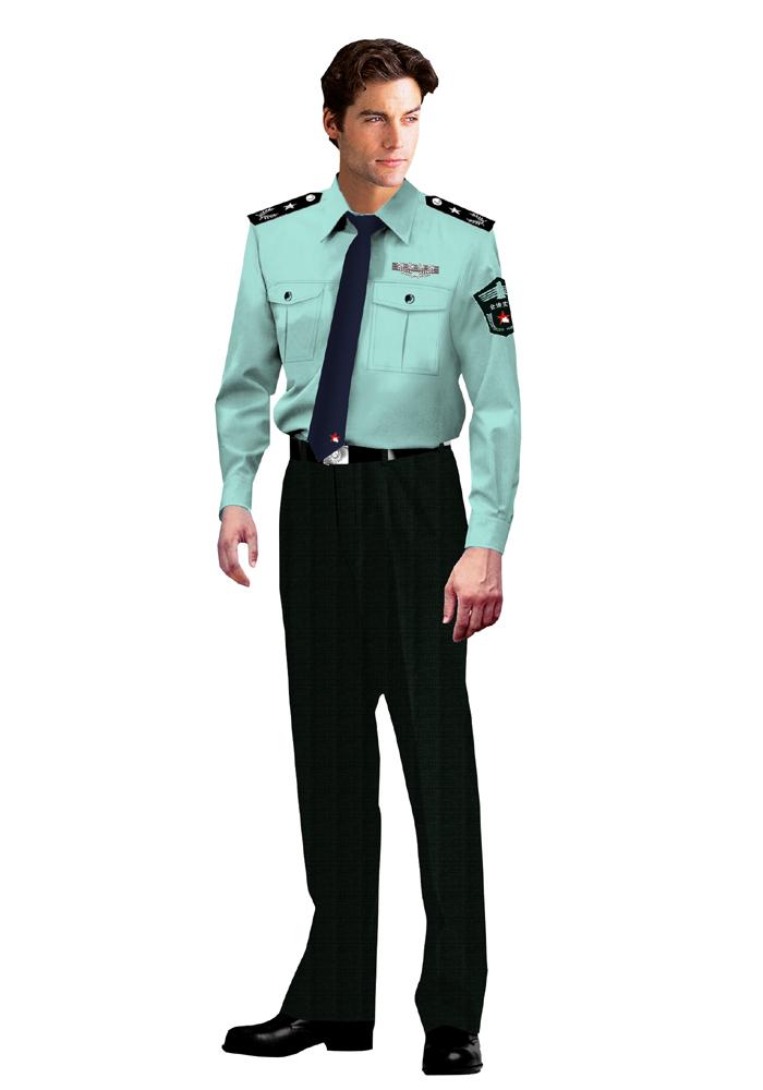 复件 夏装男保安服