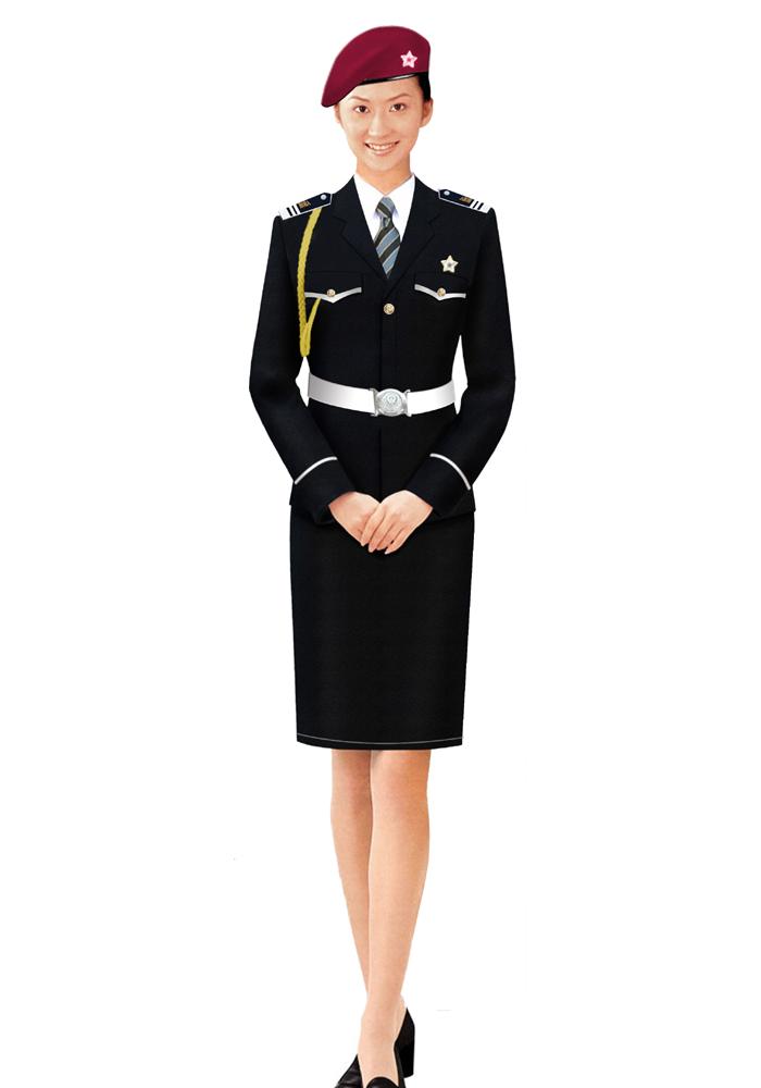 时尚款保安服