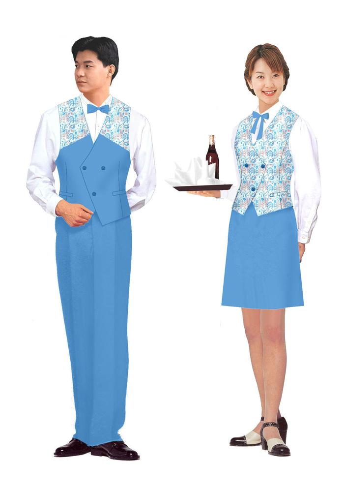 设计服务员制服