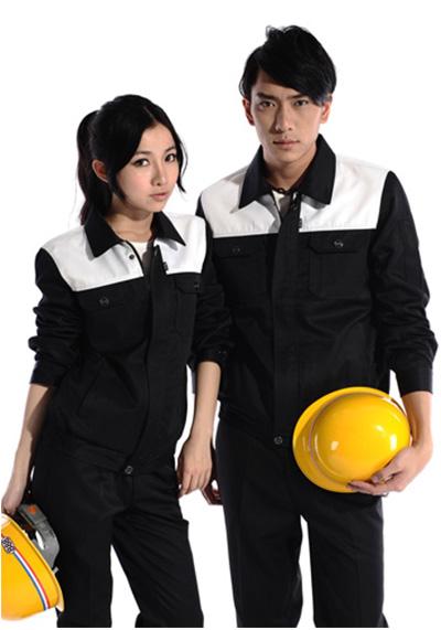 黑白工作服1