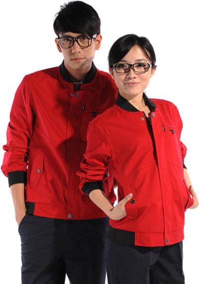 红色工作服1