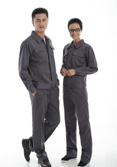 灰色工作服1