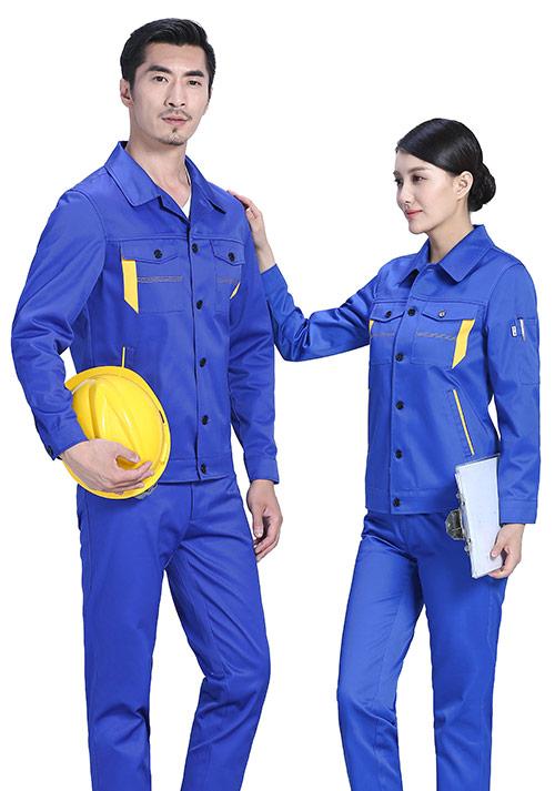 蓝色工作服1