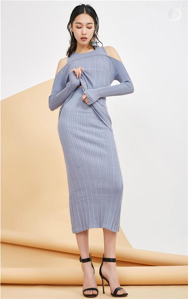 2018春夏女装针织毛衫流行趋势 简约版型