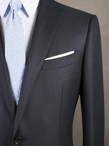 领带与定制西装颜色的搭配