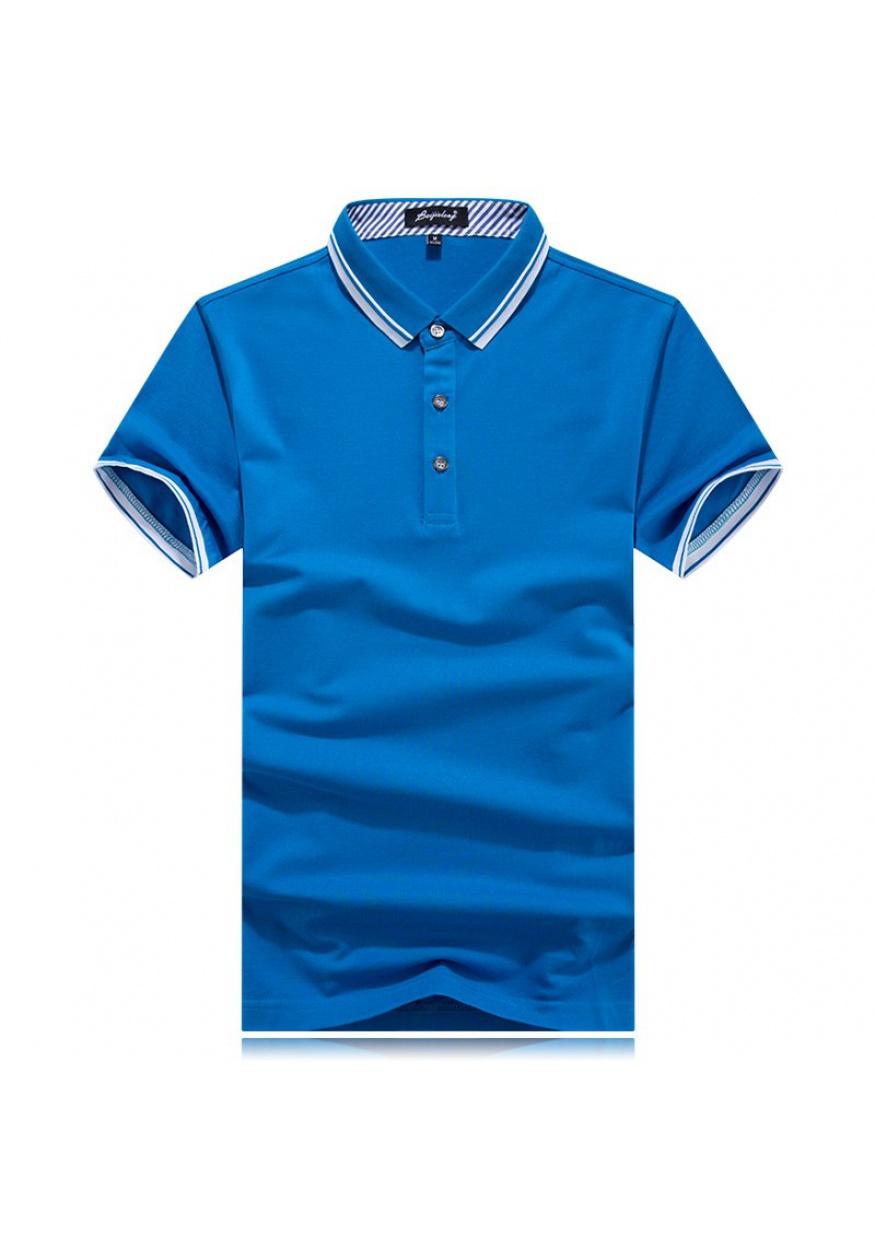 新款莫代尔珠地POLO衫T恤